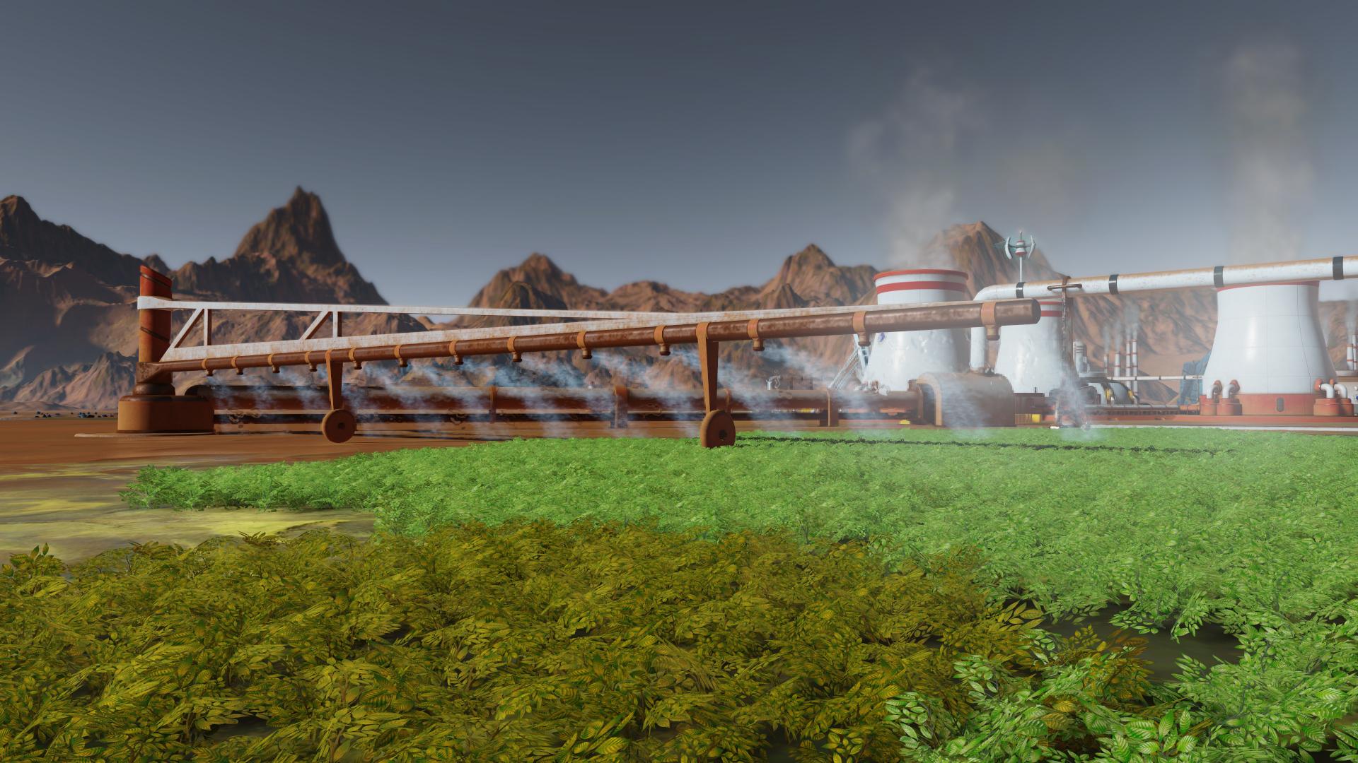 АНОНСИРОВАНО НОВОЕ ПЛАТНОЕ ДОПОЛНЕНИЕ GREEN PLANET ДЛЯ SURVIVING MARS