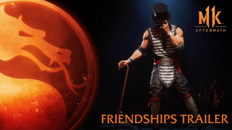 ТРЕЙЛЕР FRIENDSHIP MORTAL KOMBAT 11 AFTERMATH
